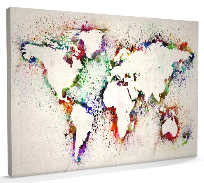 30 Creative and Easy DIY Canvas Wall Art Ideas on Creative:kqmwrvdqiag= Wall Art Ideas  id=86396