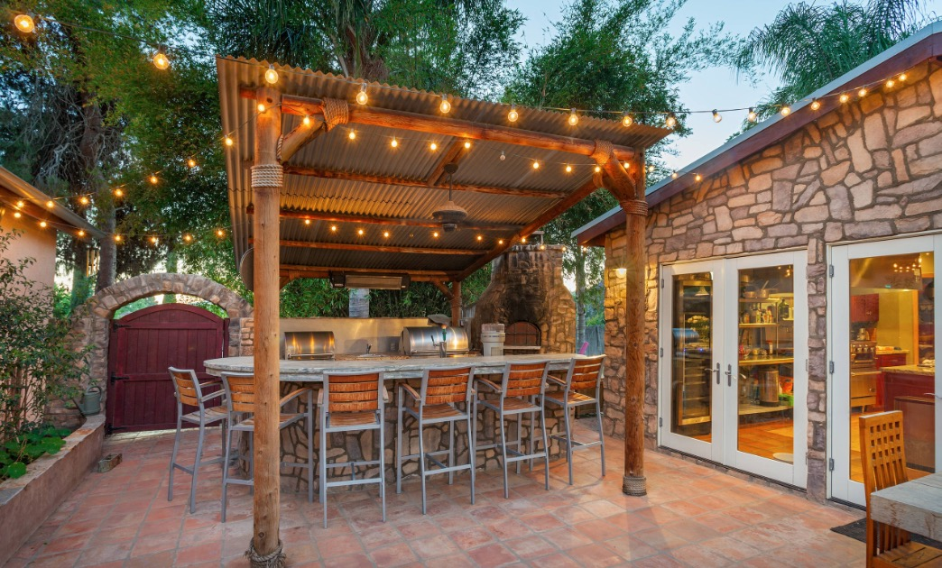 Newest Chic Patio Covers for 2019 on Backyard Patio Cover Ideas  id=28226