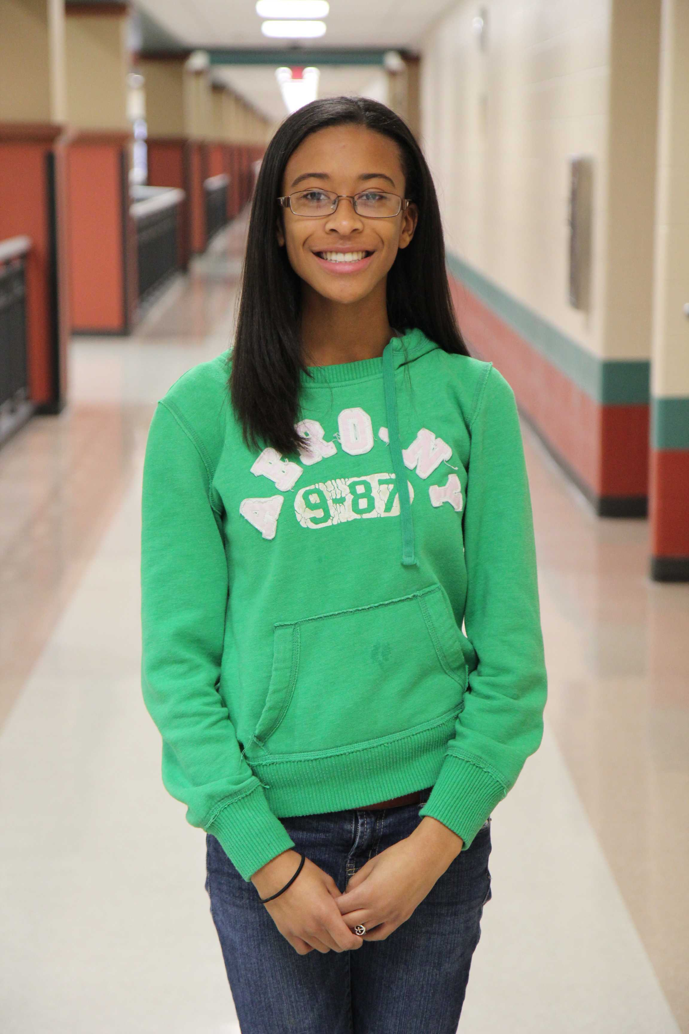 Lasker was the first ever George Ranch student to qualify for All-State Band.
