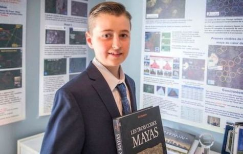 Canadian boy discovers lost Mayan city