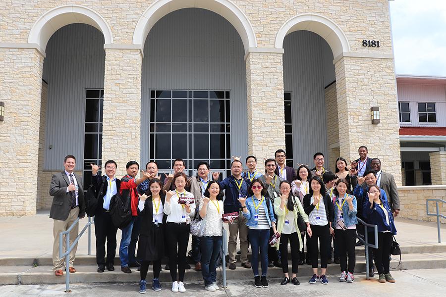 Chinese Delegations Visits Lamar ISD