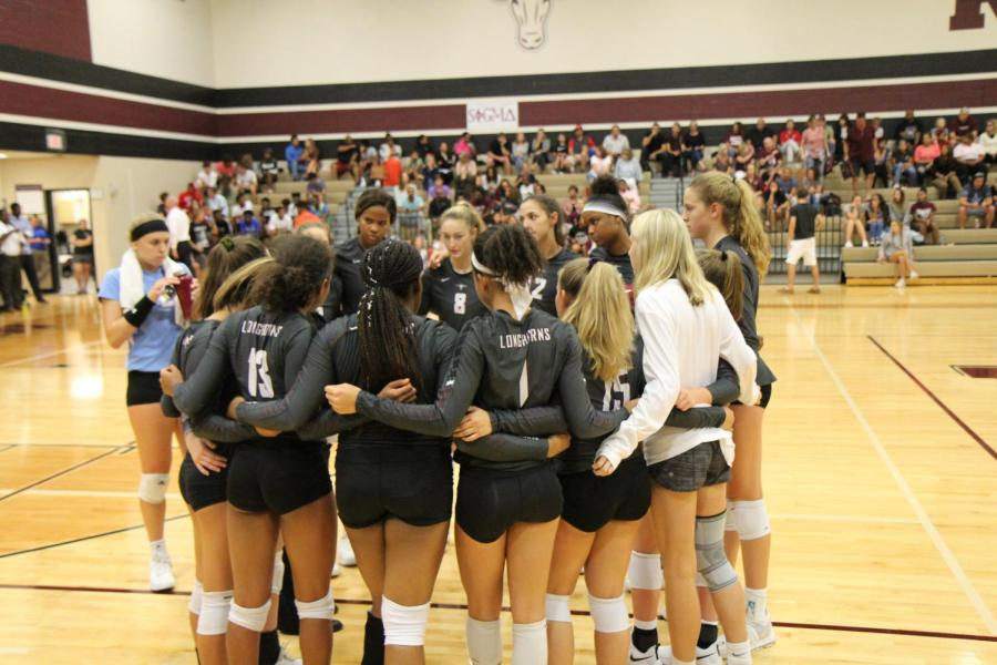 Varsity Volleyball vs. Foster (8/28/18)