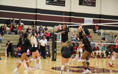 Varsity Volleyball v. Dawson