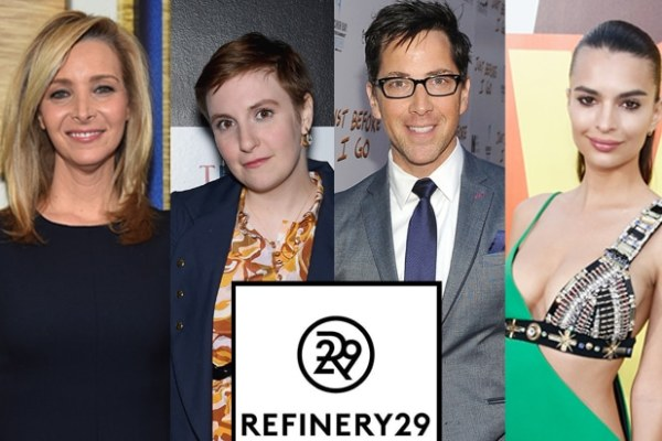 Refinery29 Slate Includes Projects by Lisa Kudrow, Lena ...