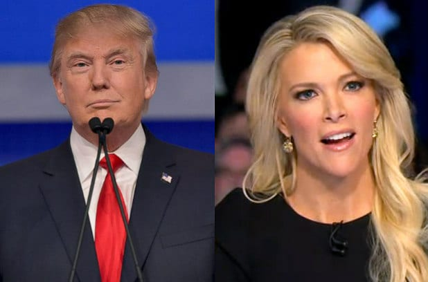Image result for megyn kelly donald trump