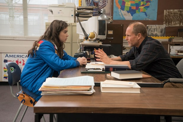 Image result for edge of seventeen woody harrelson