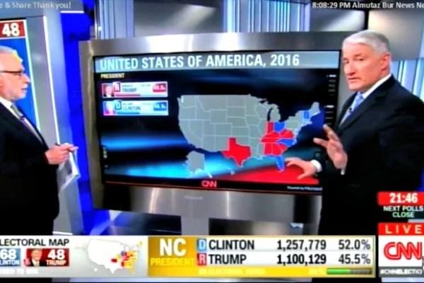 Wolf Blitzer interrupts John King at CNN Magic Wall During ...