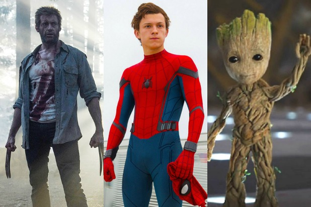 every marvel movie ranked spider-man homecoming logan guardians of the galaxy baby groot