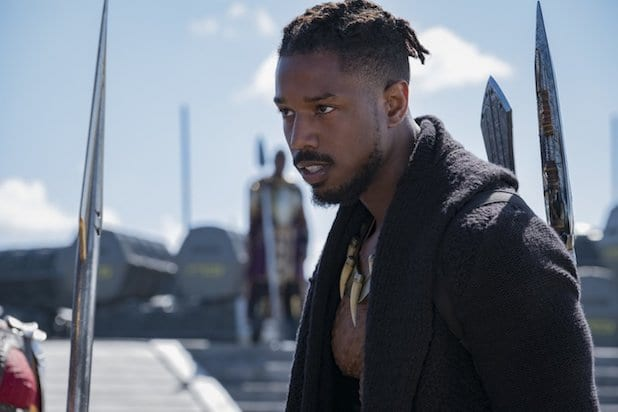 Black Panther Michael B. Jordan killmonger