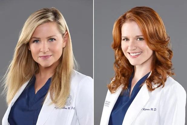 Grey's Anatomy Jessica Capshaw Sarah Drew