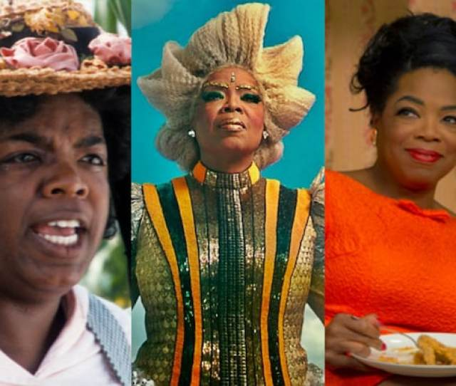 For Being Such A Larger Than Life Figure Oprah Winfrey Has Gravitated As An Actress Toward Playing More Modest Women Of An Ordinary Stature