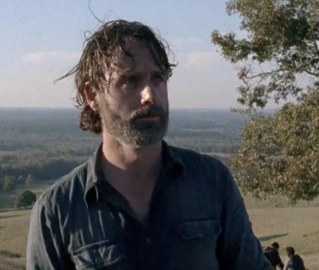 The Walking Dead Rick Grimes Andrew Lincoln Break Comic Con