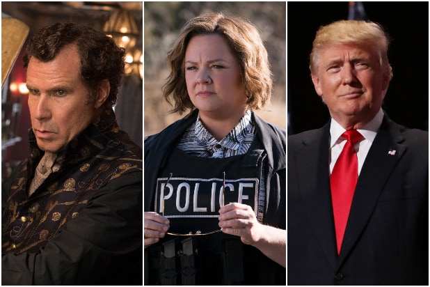 Will Ferrell, Melissa McCarthy i Donald Trump
