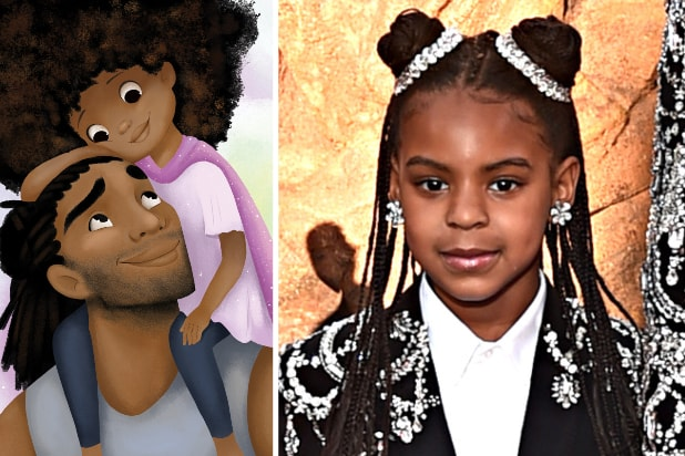 blue ivy carter to narrate new hair