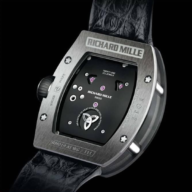 Richard Mille Women Tourbillon Diamond Watch Celtic Knot
