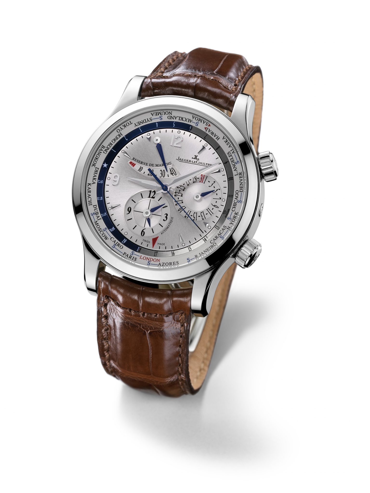 The Jaeger-LeCoultre Master World Geographic
