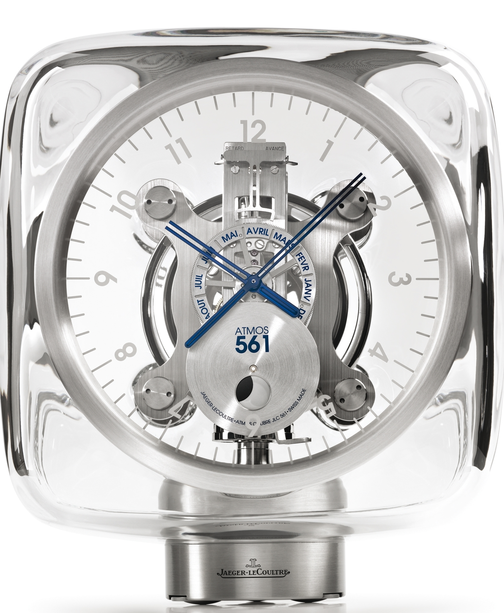 Jaeger LeCoultre Atmos Clock 2010 Designed by Marc Newson