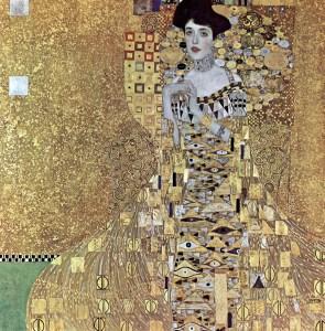 portrait of Aldel BLoch Bauer by Gustav Klimt
