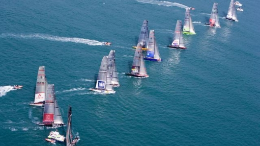 Louis Vuitton Cup Starting Line up