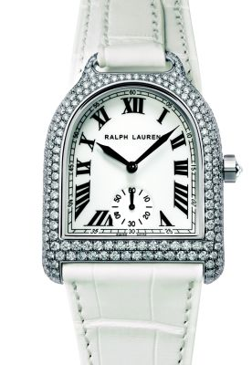 Ralph Lauren Women's Diamond Stirrup Watch