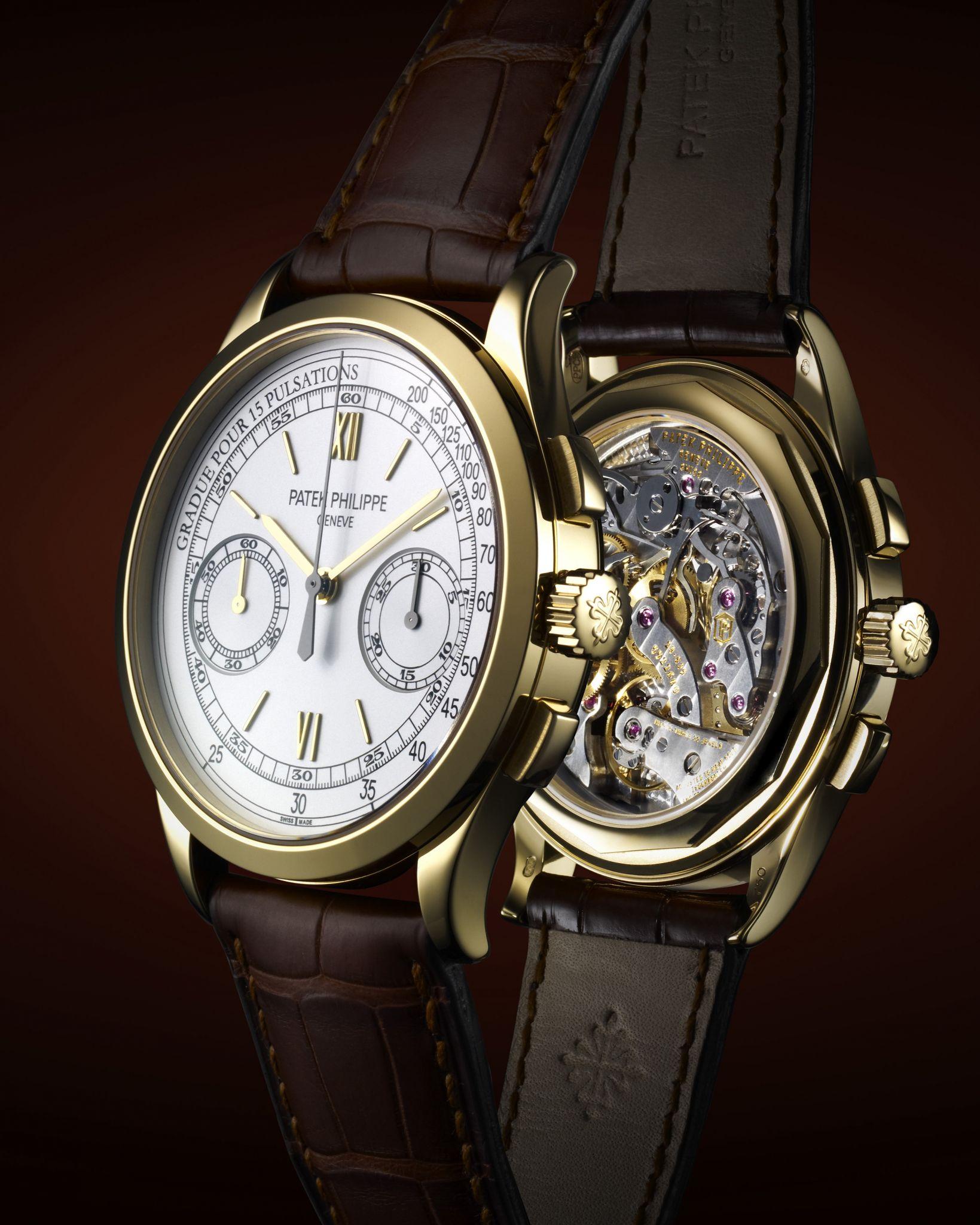 Mens Chronograph Watch Patek Philippe