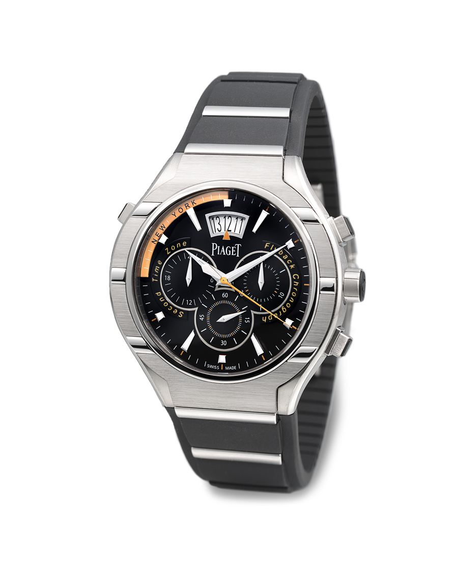 The Piaget Polo 45 chronograph mens watch