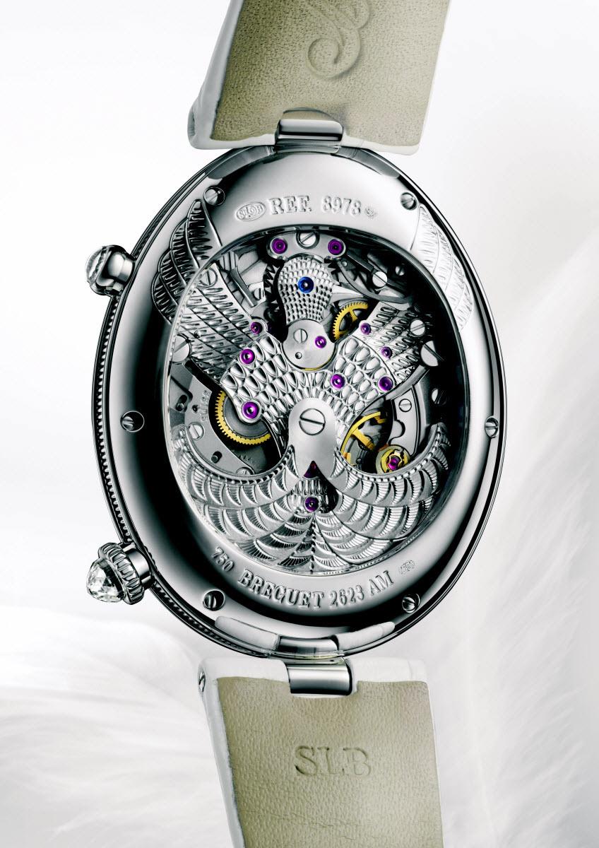Breguet Reine de Naples watch automatic watch diamond watch