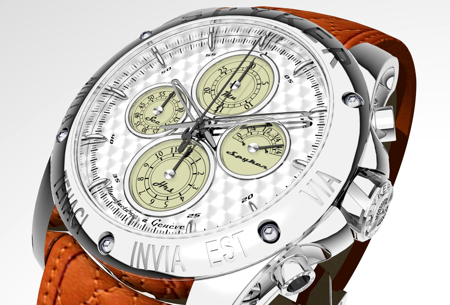 Chronograph Automatic Watch by Spyker