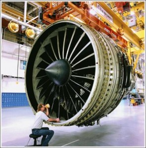 turbine engine boeing 777 jet