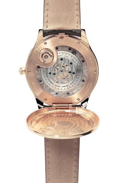 Van Cleef & Arpels watch Midnight in Paris night sky stars gold watch