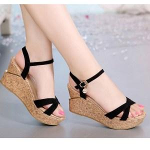 Wear sandals