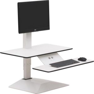Lorell Sit-to-Stand Electric Desk Riser