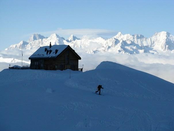 Mont Fort Hut