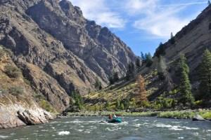Rafting Salmon River