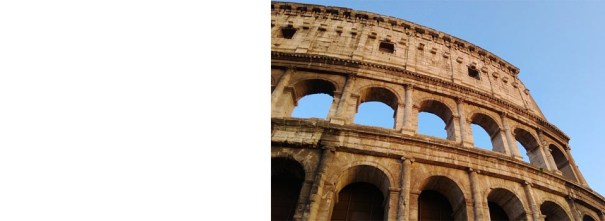 The Roman arch inspires writers to create elegant structures of their own…