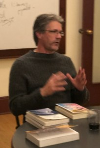 Jeff Smoot reading at The Writer's Workshop Seattle writing classes.