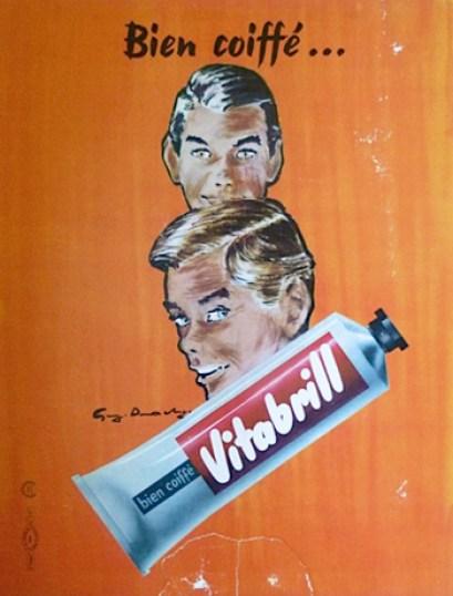 1950s Vitabrill ad
