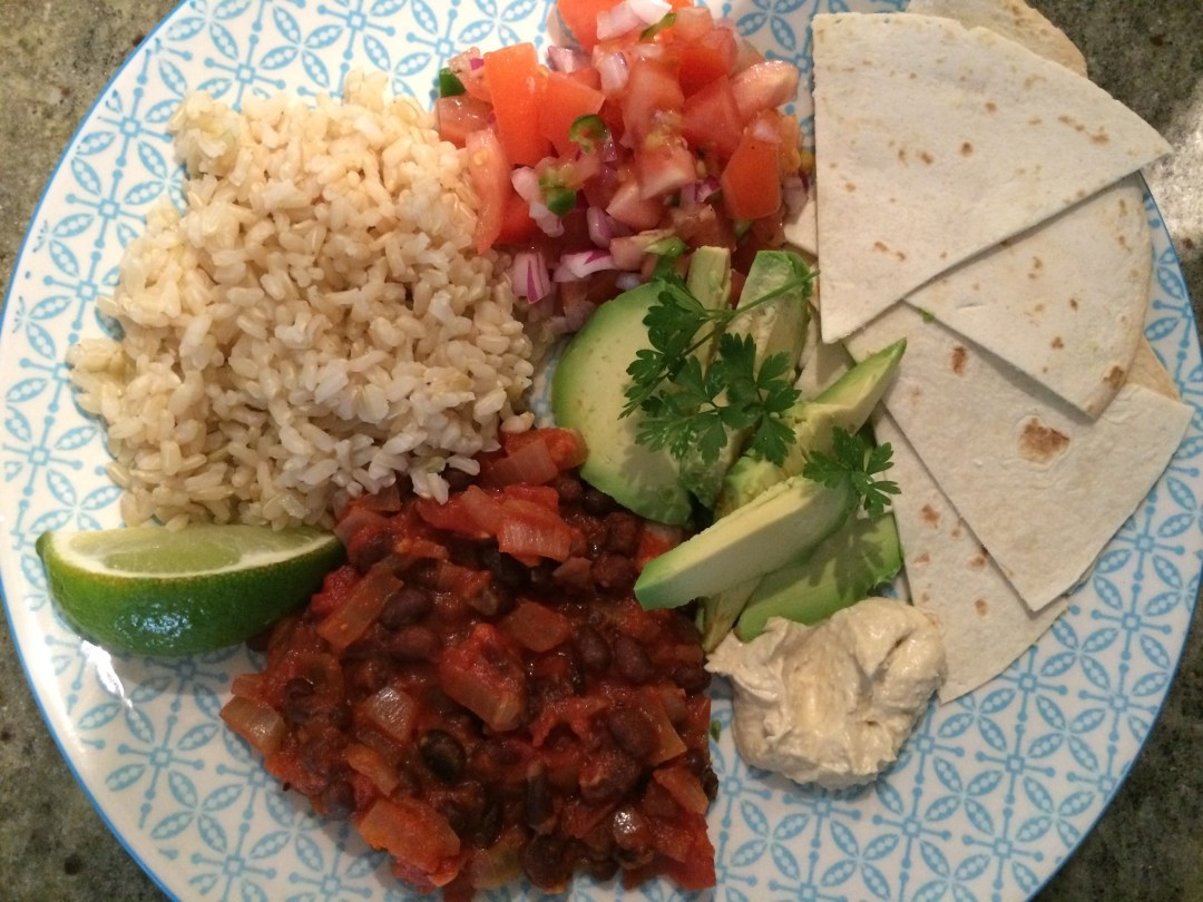 Vegan Mexican Plate