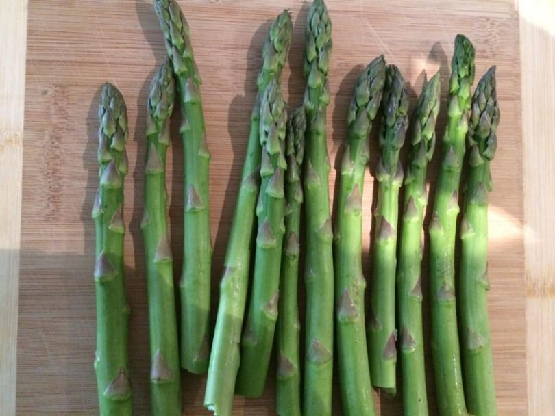 Fresh Baked Asparagus