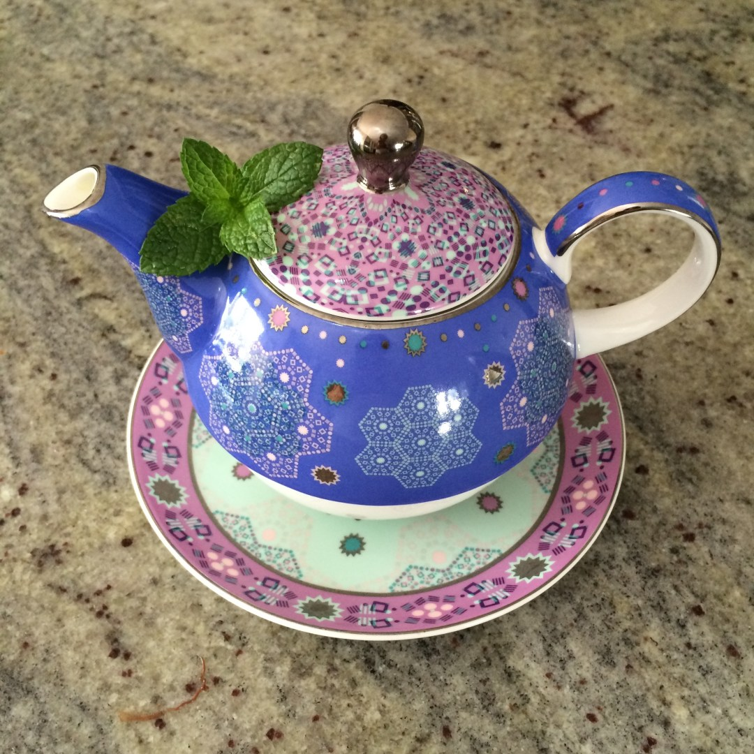 Little Peppermint Teapot