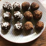 Chocolate and Chia Energy Balls