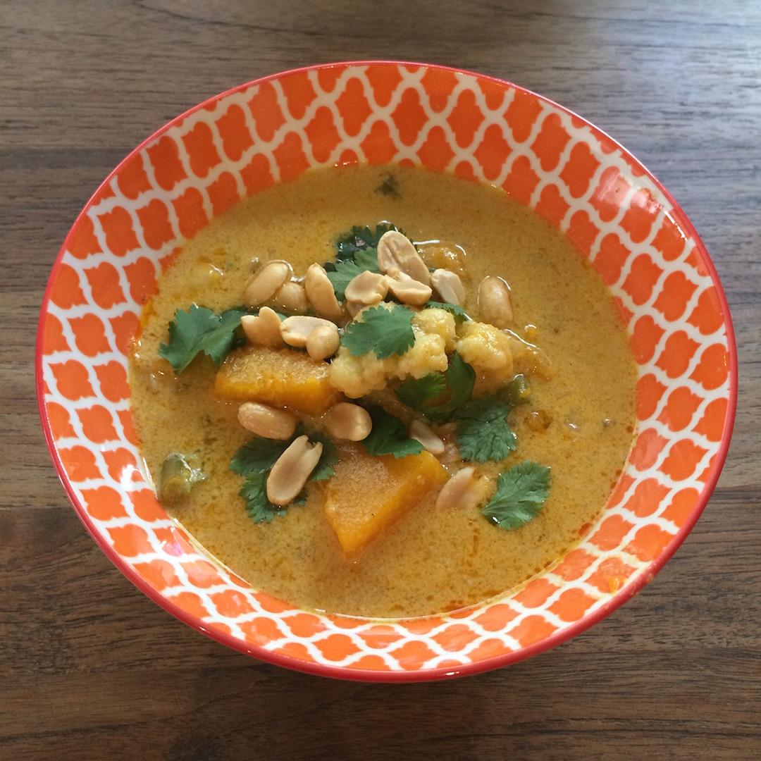 Yellow Cauliflower Curry