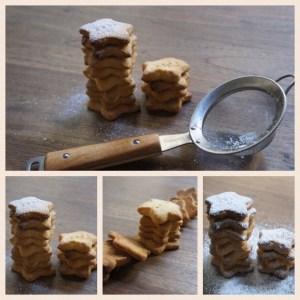 Vegan Orange Shortbread Cookies