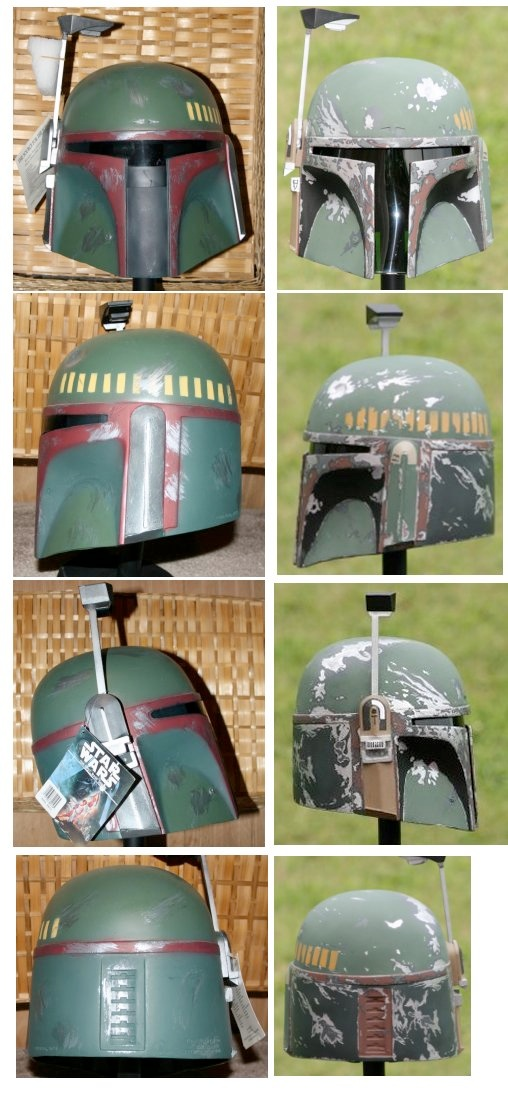 Boba Fett Don Post Helmet Customization Guide Some Time Ago 2004 I Stumbled Upon The Dented