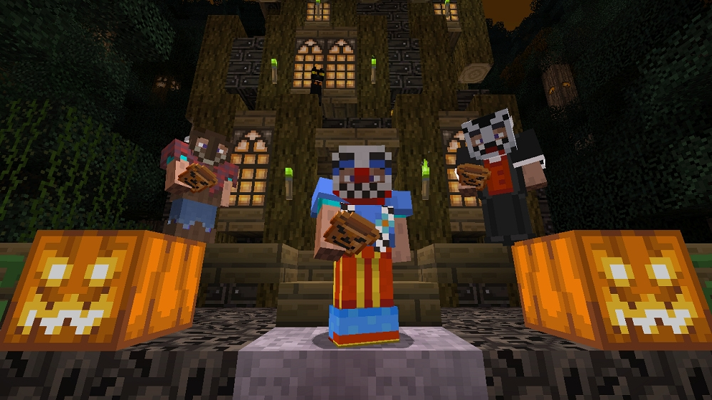 Minecraft Halloween texture pack free on Xbox 360. | TheXboxHub