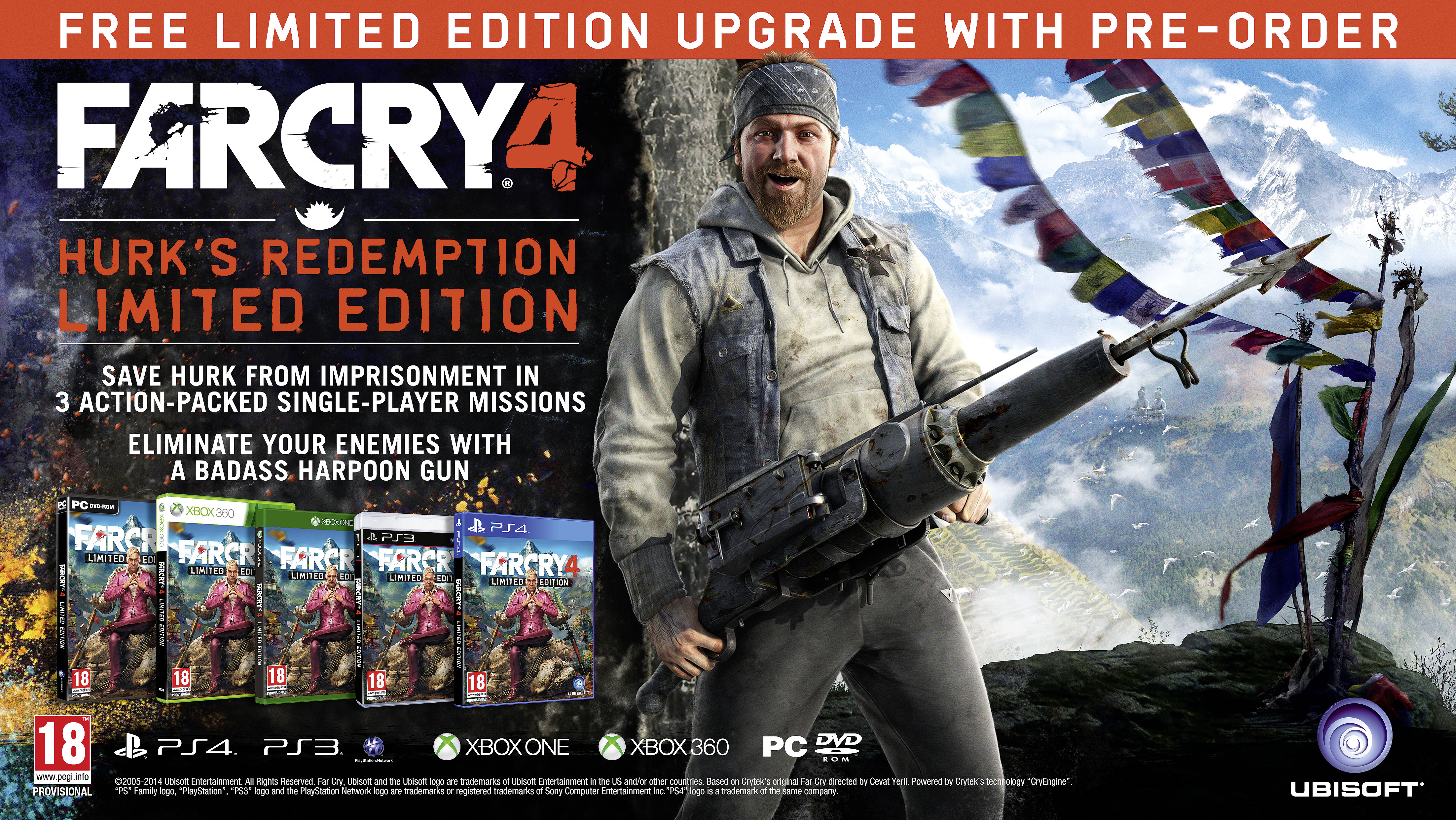 Far Cry 4 Coming To Xbox One And Xbox 360 In November Thexboxhub