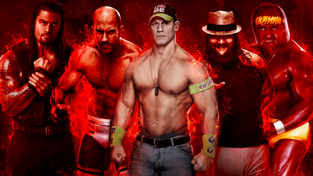 wwe 2k15 roster