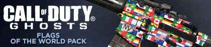 ghosts flags banner