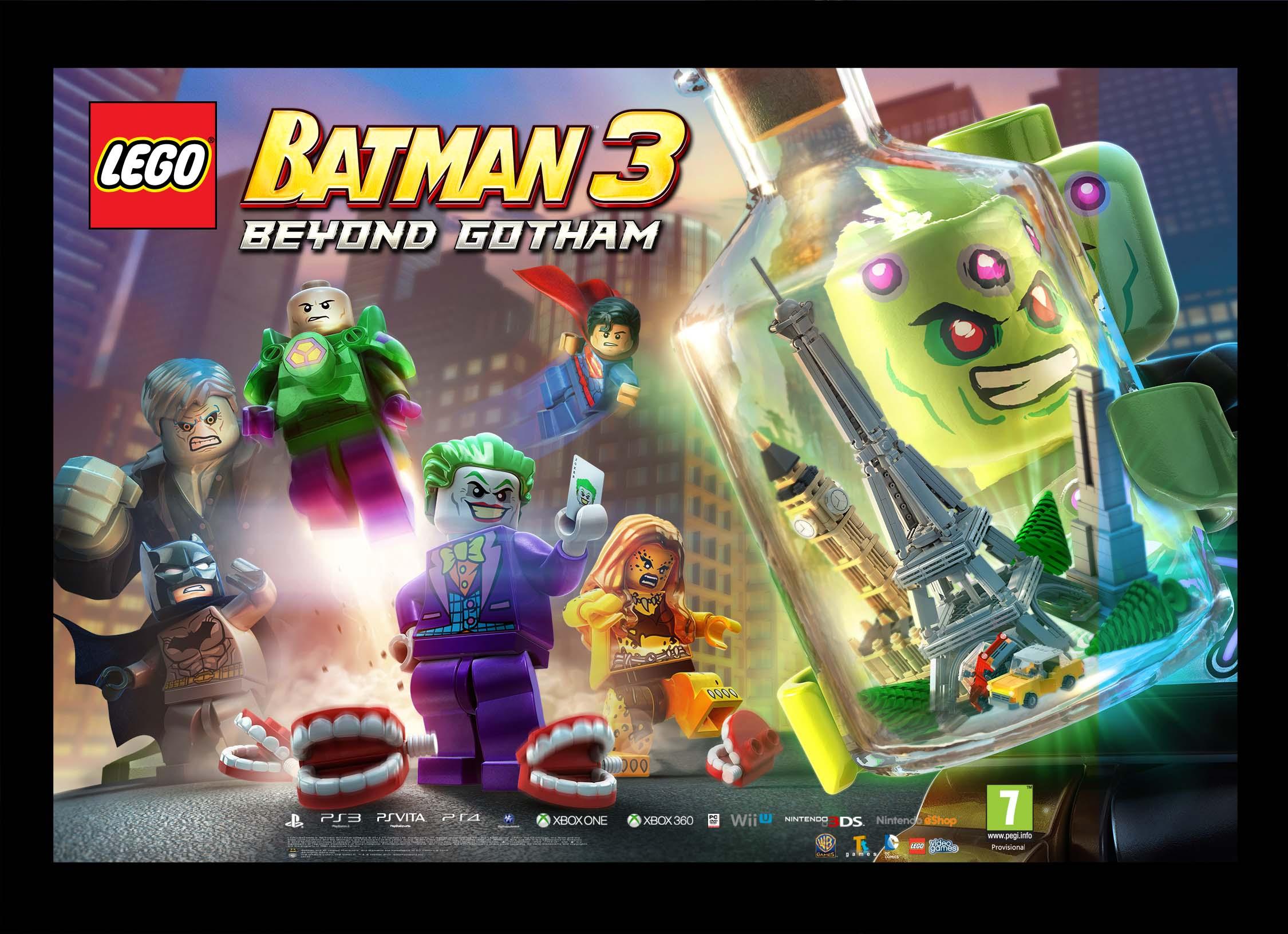 New LEGO Batman 3 Brainiac trailer and artwork released ...