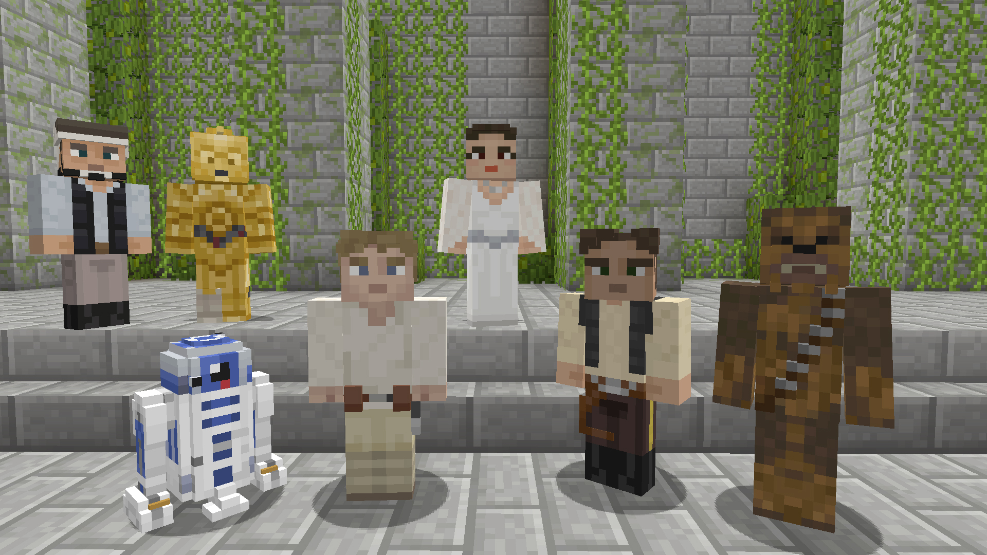 Star Wars Classic Skin Pack available now for Minecraft on Xbox